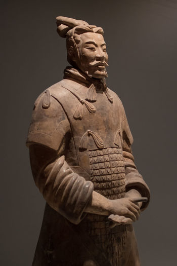 Chinese Terracotta Warriors Chinese Sculpture Sculptures Terracotta Warriors Terracotta Ancient Ancient Civilization Ancient History History Art And Craft Statue Human Representation Representation Male Likeness Creativity Craft