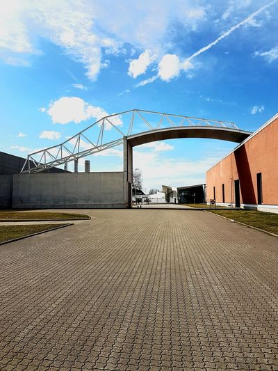 Vitra Vitra Campus Built Structure Day Architecture Outdoors Fabrics Alvaro Siza Vieira Industry Sky Cloud - Sky Architecture No People