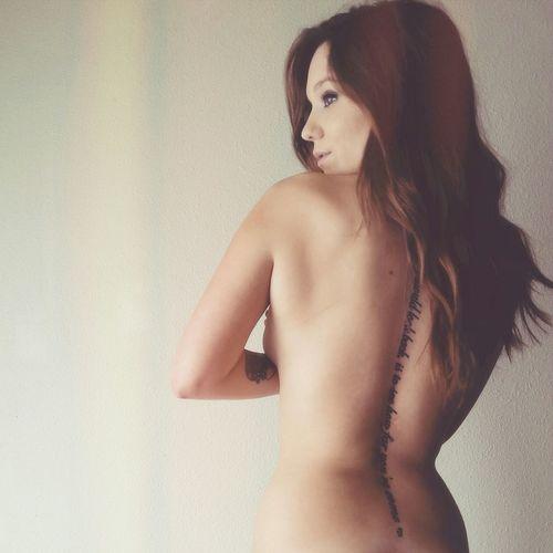New Spine Tattoo....