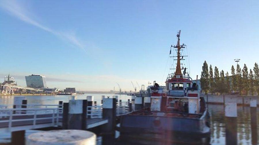 Kiel am Morgen. Eine tolle Atmosphäre. WildesKiel