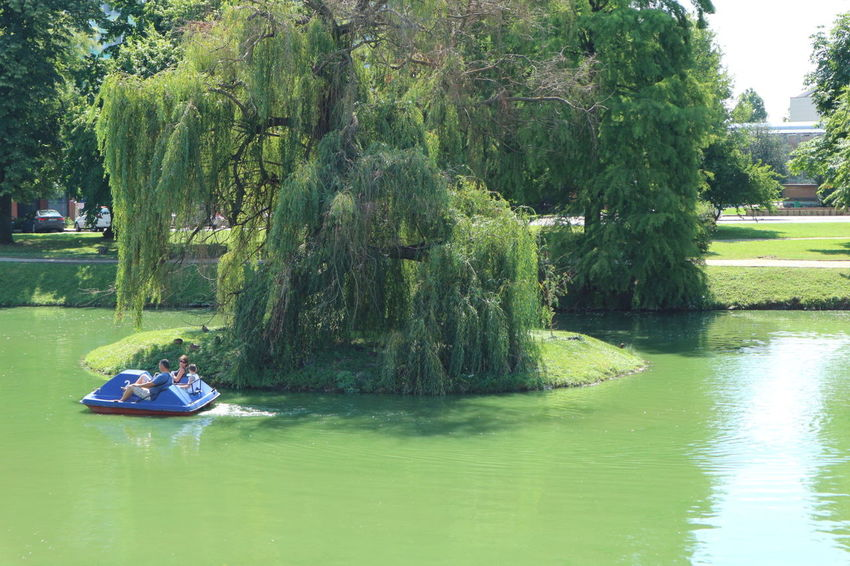 Canon M10 Gyula Pond Summer People Together Showcase July Hungary Tourists Hidden Gem