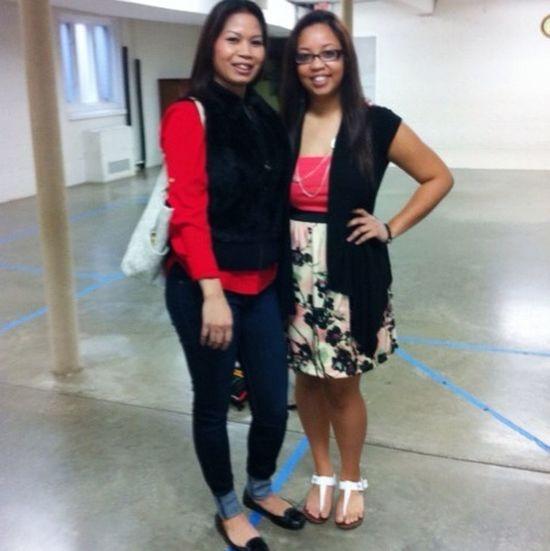 Me & my aunt (;