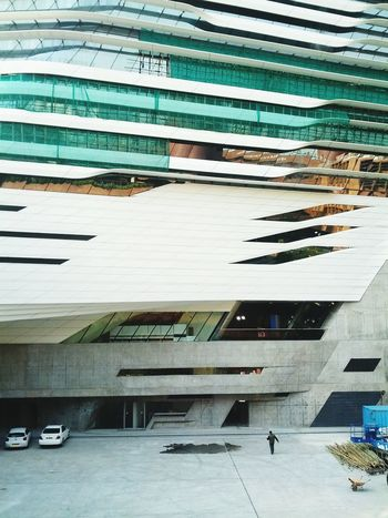 Zaha Hadid's Innovation Tower-forever under maintenance
