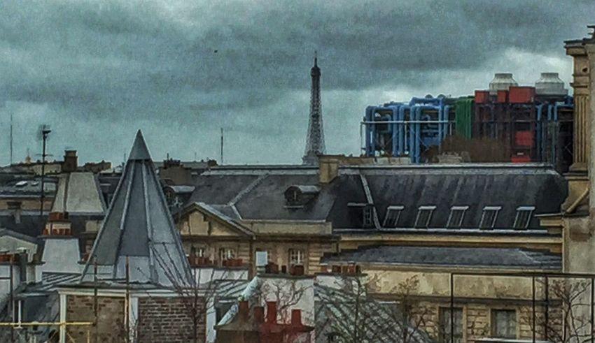IPhoneography Hdr Edit Skyline Tour Eiffel Le Marais