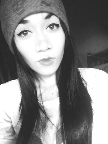 Selfie ♥ Black & White Me❤ In Love ♡