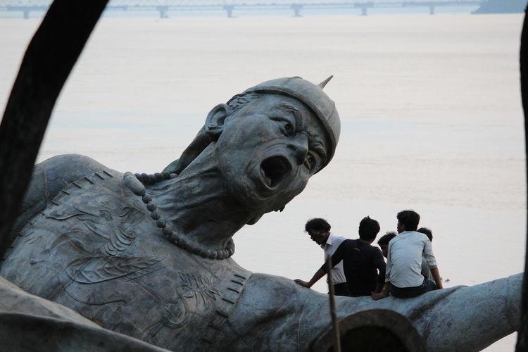 Funny Faces Randomshot Random :) Random Statues Statue Funny Moments