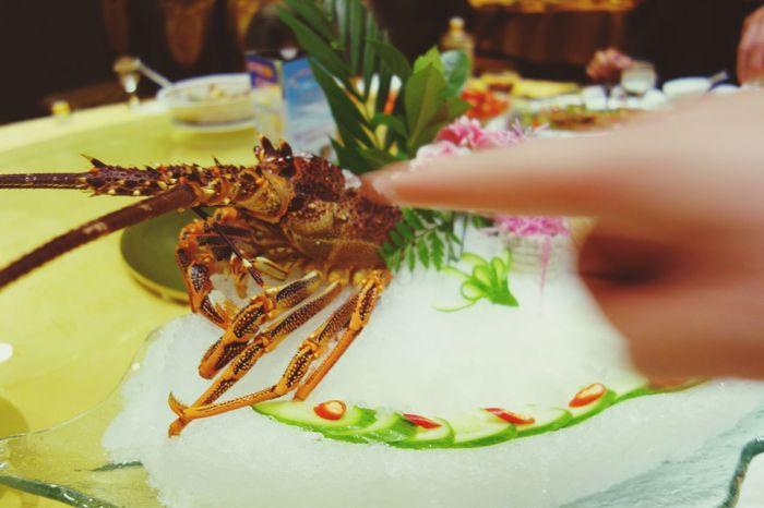 China Photos Robster Restraunt Dinner Shushi