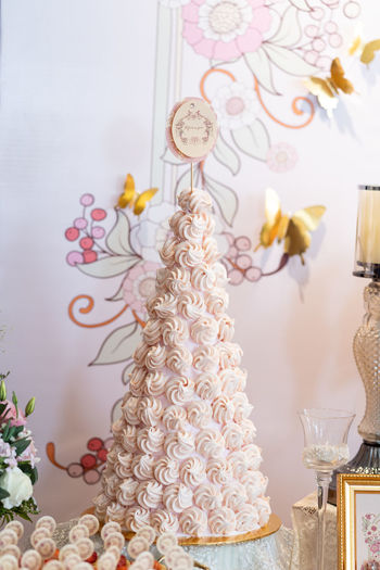 Baked Cake Candle Celebration Decoration Design Dessert Event Floral Pattern Food Food And Drink Freshness Indoors  No People Pattern Still Life Sweet Sweet Food Table Temptation Wedding Cake