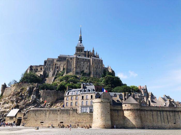 Mont Saint-Michel Le Mont Saint Michel, France Le Mont Saint-Michel Architecture Built Structure Sky Building Exterior Building Religion Belief
