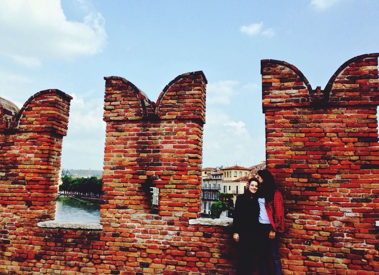Hanging Out Friends Happiness Verona