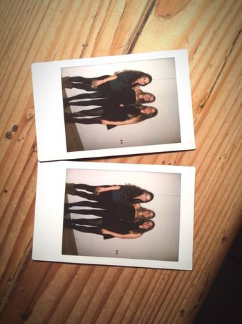 ?They say we're too young. Let them say what they want? Polaroid Fujifilm Friends Party Germany AllBlackEverything Girls Thursday Night Myuniquestyle Whatever