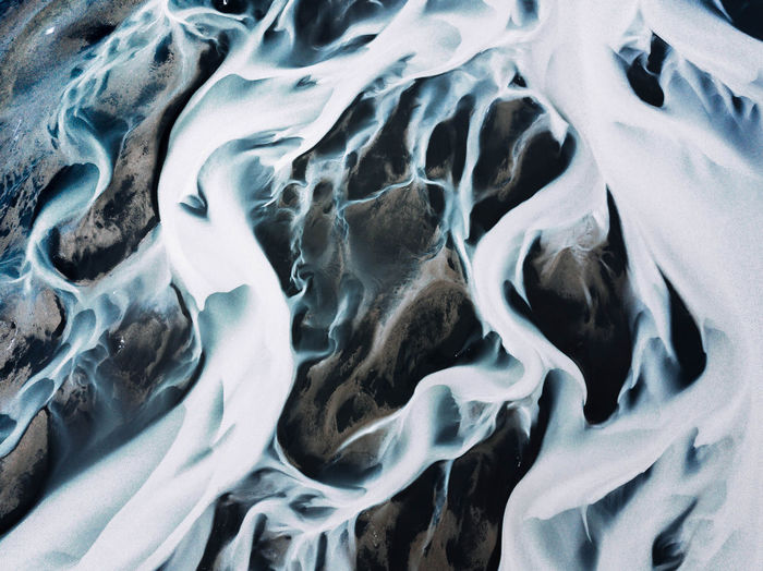Iceland The Week On EyeEm Backgrounds Close-up Cold Temperature Day Full Frame Nature No People Outdoors Pattern River Textured
