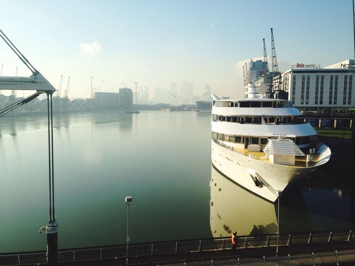 London ExCel Centre Thames Meeting View