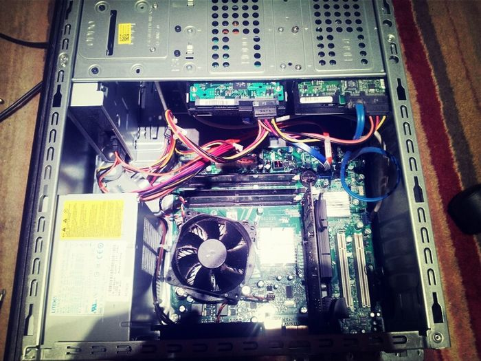 Pc Before New Psu And Graphics Card Install