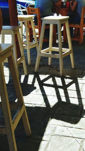 La sombra...