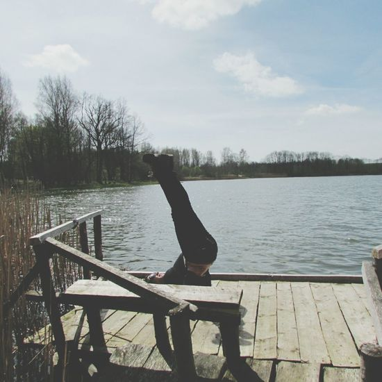 That's Me Xtrem yoga Relaxing Enjoying Life Mirando El Cielo Fotography Enjoying Life Morena ❤