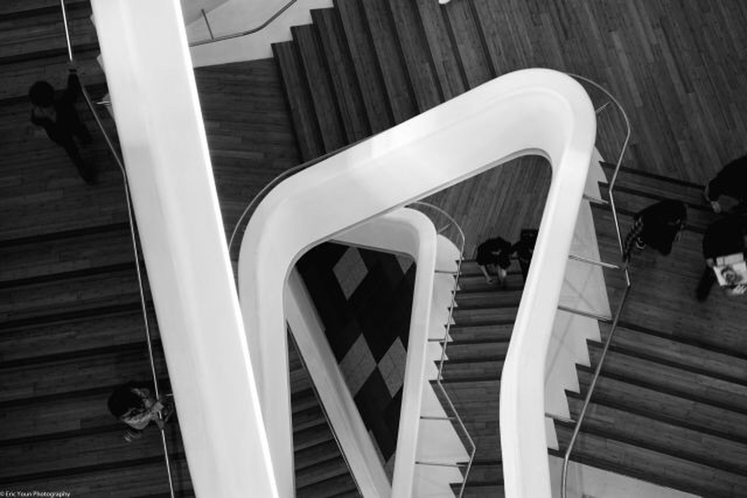 steps, steps and staircases, railing, staircase, wood - material, indoors, built structure, high angle view, architecture, wood, stairs, wooden, day, no people, escalator, sunlight, spiral, metal, building exterior