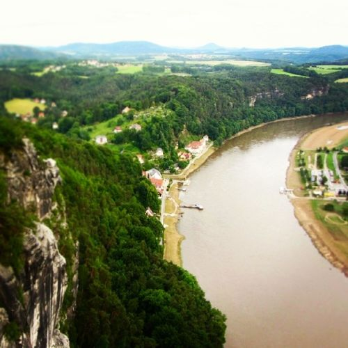 This is near home at Saechsischeschweiz Elberiver Elbefluss Germany Deutschland River Europe