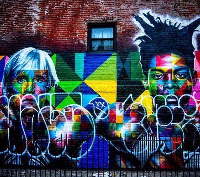 Basquiat vs Warhol Artist @kobrastreetart . Photo by @Epok_Artography Basquiat Warhol JeanMichelBasquiat Andywarhol EduardoKobra Eduardokobramural Graffiti Graffitiart Greatestartist Mural Muralart Streetart Streetartist UrbanART Photography Streetartphotography Nystreetart StreetArtNYC Nygraffiti Artists FightForStreetart Lifeisart Popart Popculture Showcase: February williamsburg Brooklyn NEWYORKCITY nyc 80sbaby
