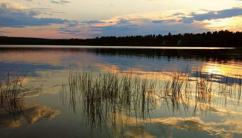 Sunset Vackra Dalarna Summer2014 Love Hello World Taking Photos Relaxing