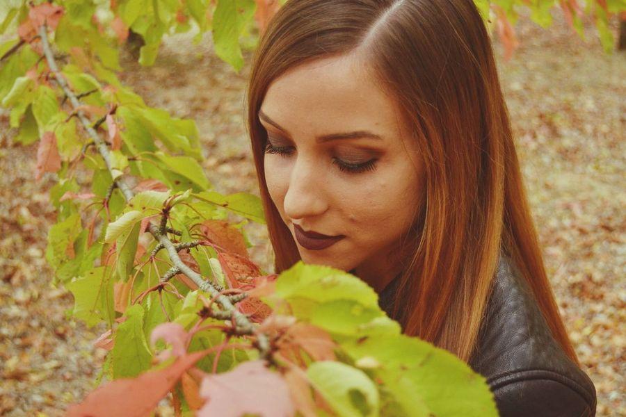 Myself Girl Autunno  Fall Fall Time Autumn