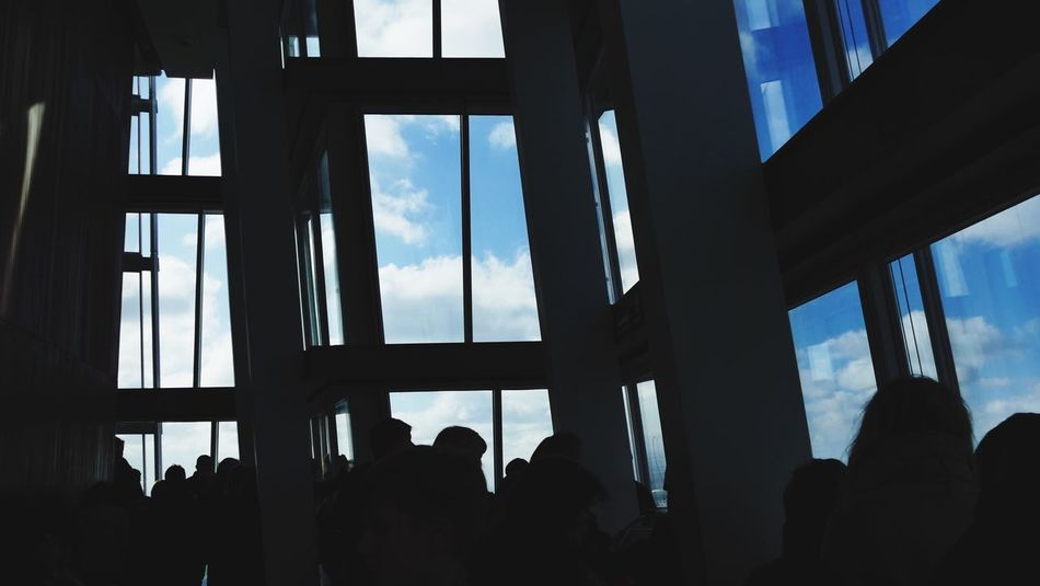 'Where Are We Now' The Shard Shard Modern Architecture Modern Architecture Glass Sky Slihouette Skyscraper View The Architect - 2016 EyeEm Awards -- B