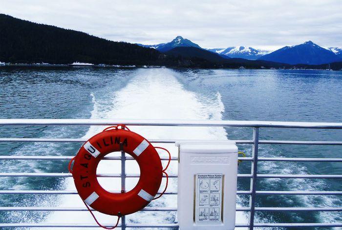 Cruising In Style Enjoying Life Water Water Reflections Alaskan Nature Mountain Alaska View