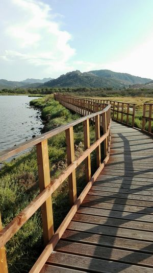 Bridge Lake Bridge On The Lake Hanging Out Holiday Sardinia Italy Places I've Been Perfect Place