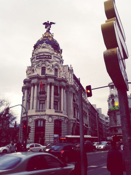 Madrid Arquitectura Madrid Madrid • Gran Via Edificios Singulares: Madrid.