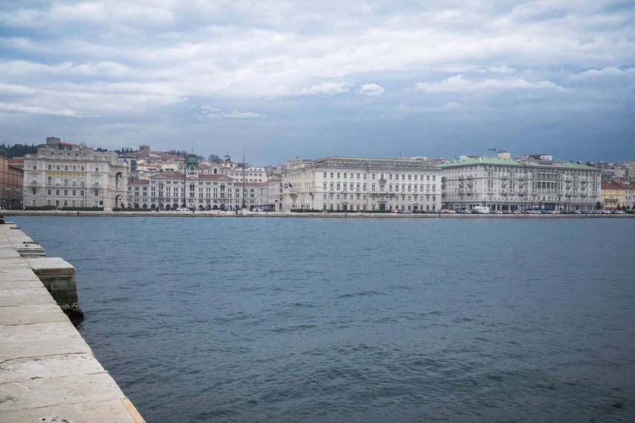 Trieste - Marzo 2017 Building Exterior Architecture Sky Built Structure Water City Outdoors Residential Building Day Cloud - Sky No People Nature Tree Lonelyplanet TriesteSocial Trieste Landscape_Collection