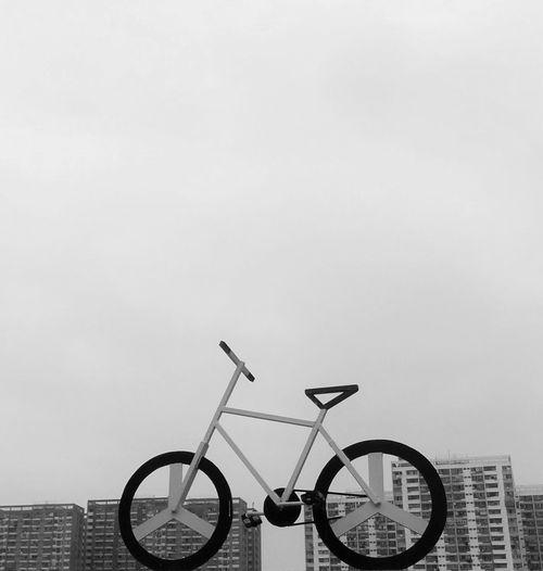 Bike Black And White Buildings Cycle Sha Tin The Street Photographer - 2017 EyeEm Awards