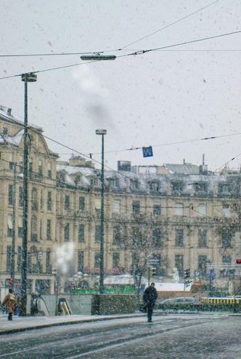 Canon EOS 600D Canon EOS 600D DSLR Munich München Munich Streets Munich Architecture Munichcity Snow Snow ❄ Snowing Snowy Snow❄⛄ Eyeem Snow EyeEm Snow Shots