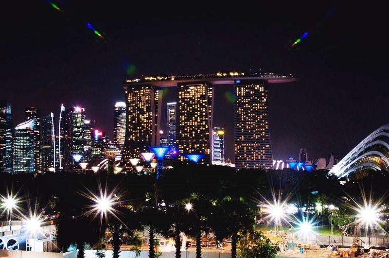 Marina Bay Sands Singapore Trip