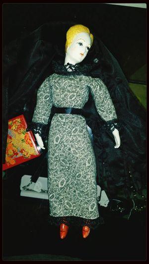 Budoir Doll Vintage Porcelain  Axantiques Thrift Shop Antique