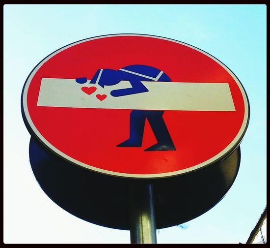 Traffic Sign City Art