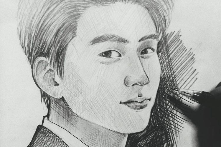 Portrait Drawing Taecyeon