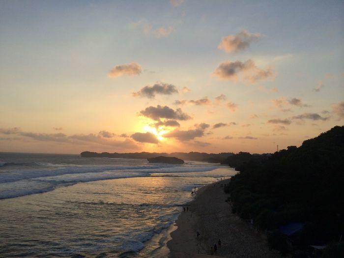Beach Indrayanti Yogyakarta Vacation