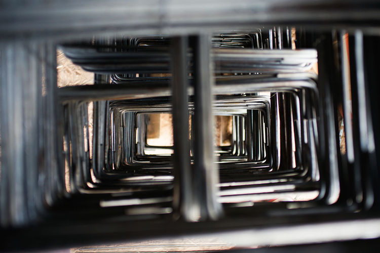 Steelwork for reinforcement the concrete structure at the construction site Architecture Foundation Abstract Background Texture Engineering Reinforcement Steel Structure  Steelworks
