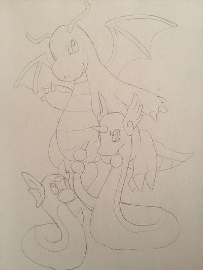 Pokémon ポケモン Illustration Painting Drawing MyDrawing