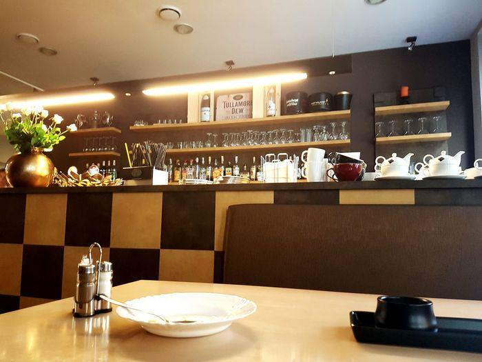 Restaurant Aura Ostrava Poruba Buffet Illuminated Day No People Home Interior Indoors  Daily Menu Bar Decoration Modern
