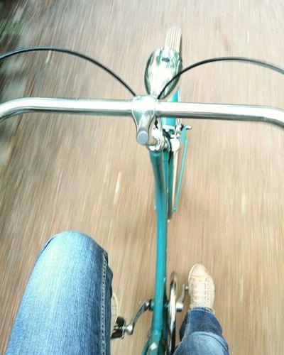 Pedal Berlin Street Photography Street Berlin Prenzlauer Berg The Street Photographer - 2017 EyeEm Awards Cycling Bicycle Bike Bike Ride On The Road Hollandrad Dutch Bike Turquoise Sneakers Jeans Mooving Ride Bike Ride Or Die Human Leg Looking Down In Motion Biker Bikelife Speed The Great Outdoors - 2017 EyeEm Awards