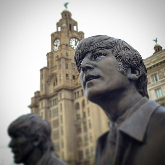 Showcase: December My Best Photo 2015 Liverpool, England Liverpool John Lennon Liver Building Liver Bird Beatles