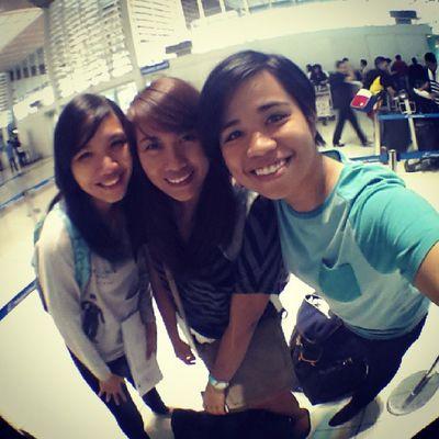 Checked in! Singapore bound in 2 hours! SGKL2013 Dysfunctionalfamily @nirailu @jonemarie