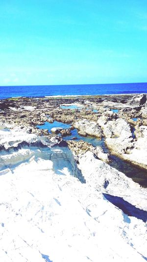 Kapurpurawan Rock Formations in Laoag City, Philippines