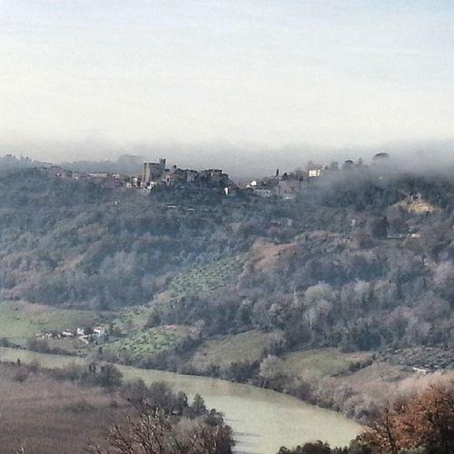 Italia Italy Instagram Nazzano castello torritatiberina panorama paesaggi vista