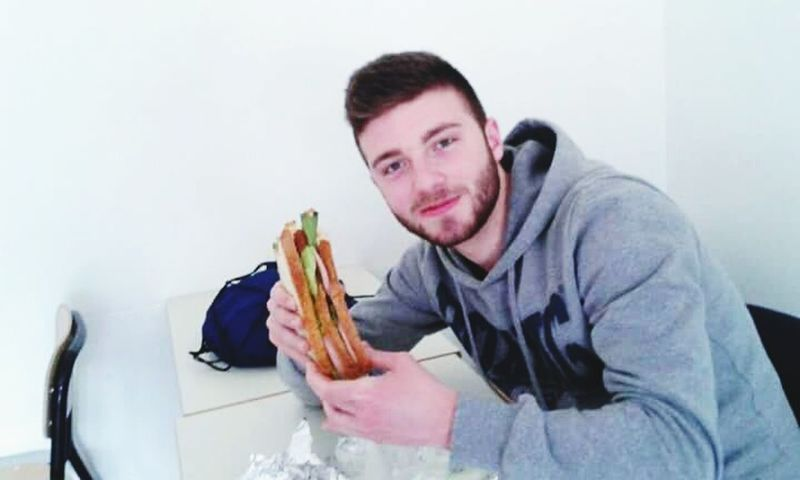 Italianboy Eyes Me Italy Sandwiches Smallsandwich School Panino Italiano Food