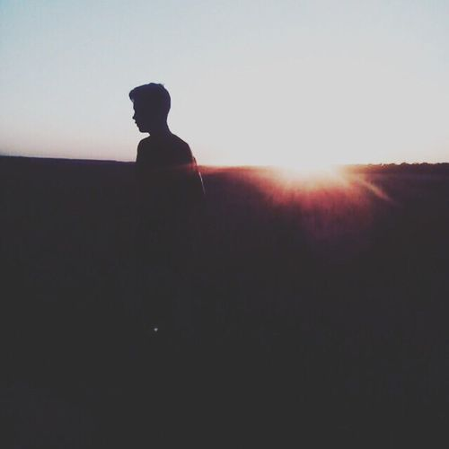 Sun Sunbeam Lens Flare Human Outdoors Silhouette Shape Men Beauty In Nature Nick