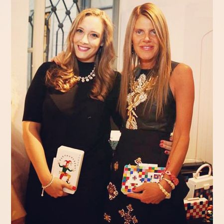 TBT  with the ultimate @Anna_dello_russo from her visit at Vogue Talents organized by @vogueitalia at Palazzo Morando in the Milan Fashion Week 2013! A Joker ? and the new SS14 PIXEL bag especially customized with AdR initials!! ??❤️?Uraniagazelli AnnadelloRusso ADR voguetalents vogueitalia palazzomorando mfw2013 mfw ss14