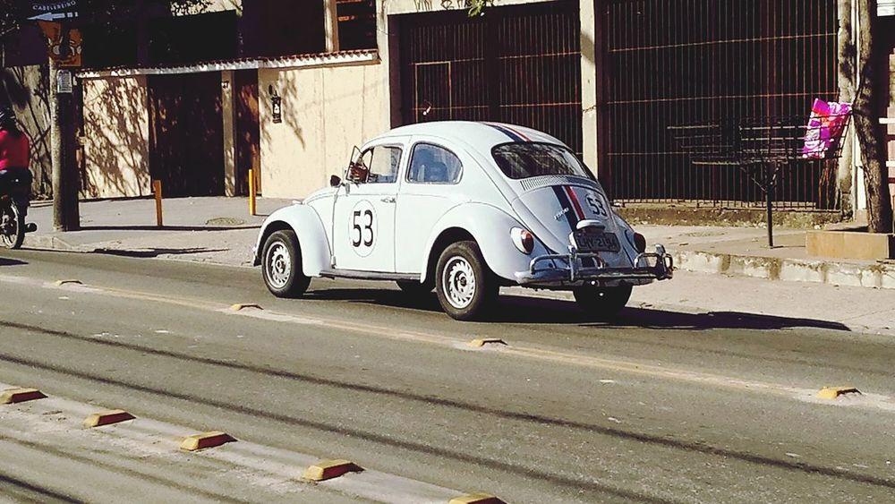 Car Herbie 53 HerbieTheLoveBug Herbie 53 Beetle Fusca Fusquinha
