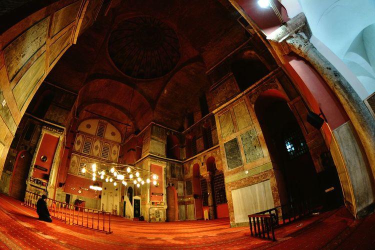 Architecture Built Structure Travel Destinations History Indoors  Illuminated Istanbul Turkey Byzantine Empire Old Byzantine Church